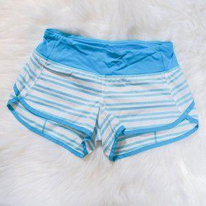 Lululemon Run Speed Stripe Shorts